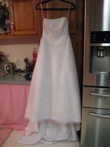 Casablanca Wedding Dress (Rockford Il.)