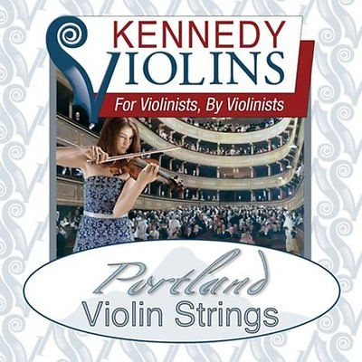 Kennedy Violins Portland Violin Strings 4/4 - NEW - FREE