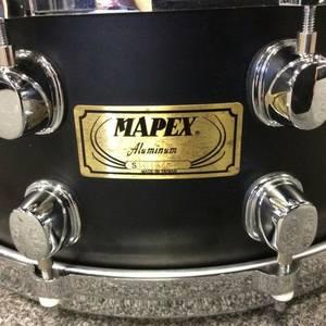 Rare Mapex Black Panther Aluminum Snare Drum 14 (Flemming / Middleburg.)