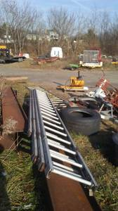 industrial ladders aluminum 18' long (mt airy)