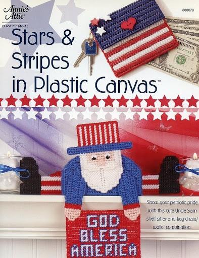 Stars & Stripes Uncle Sam Shelf Sitter & Wallet Plastic