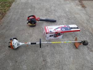 Gas Blower, Trimmer or Electric Chain Saw (Holly Springs)