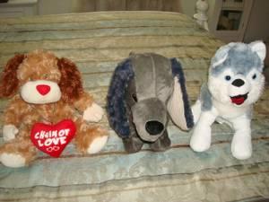 stuffed animals $5- each