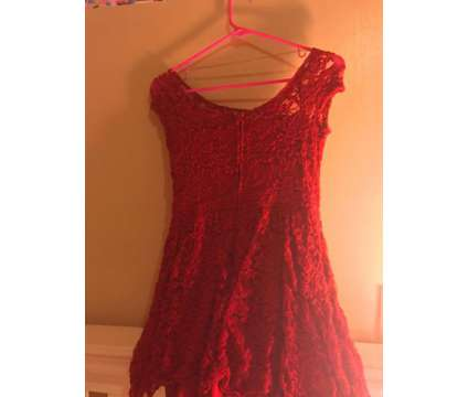 Red Laced Forever 21 Dress
