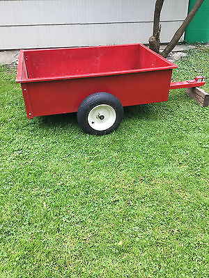 Sears Dumping Trailer for riding lawnmower