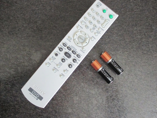 SONY Remote Control for DVD Player DVP-NS50P Tested Works!