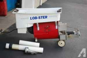 Tennis ball machine (Lob-ster) - $400 (Plattsburgh, NY)
