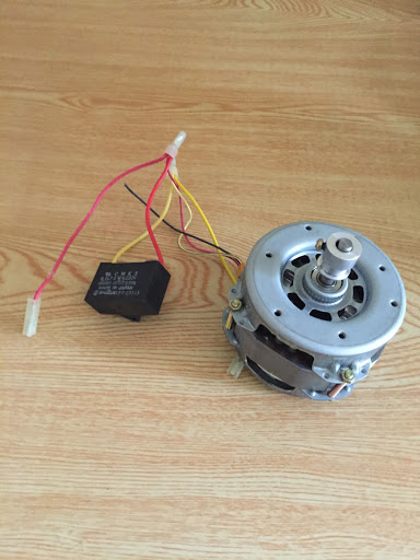 Hitachi HB-B201 Bread Machine Motor and Capacitor ONLY