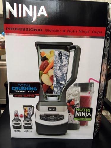Ninja Professional Blender & Nutri ninja cups - BL660 -