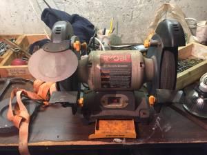 Ryobi bench grinder (Roslindale)
