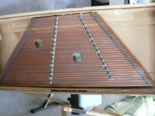 Hammered Dulcimer w/Stand and Hammers ~Reasonable Offer Considered