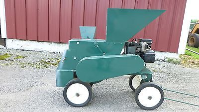 Kemp K6CH Wood Chipper Mulcher Briggs and Stratton 5hp Gas