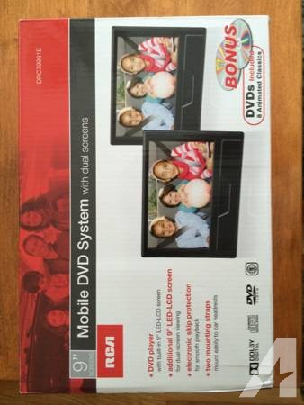 Portable car DVD player -