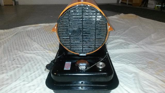 Dayton Torpedo Heater