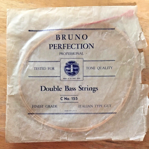 One Vintage Bruno Perfection Double Bass C String