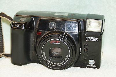 Minolta Freedon 200 Zoom 90 Autofocus 35mm Film Camera