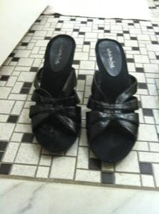 LIKE NEW WOMEN'S SHOES SIZE 10 WHAT'S WHAT BY AEROSOLES (balto.)