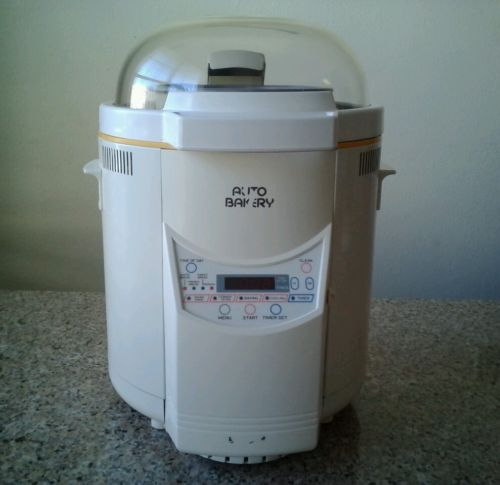 Auto Bakery Dome Glass Bread Machine, Bread Maker FAB-100-1
