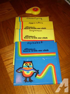 Vintage Scribbler?s Learn With Me Club Educational Activity Set