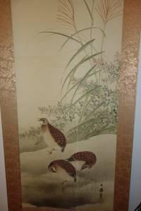 Antique Chinese - Japanese Hangind Wall Scrolls - Paininings (Potomac)