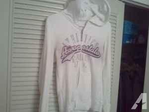 White aeropostale sweatshirt, sz med -