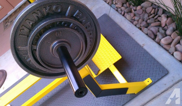 Flex Professional Flat Weight Bench & Ivanko Weights