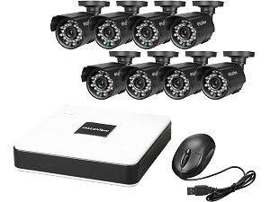 8 Camera Surveillance System W/Dvr & Hard Drive