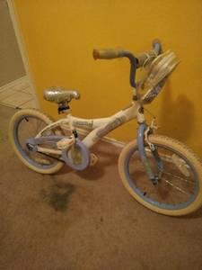 Vendo bicicleta de nia 18
