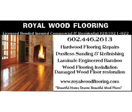 Laminate & Engineered Wood Flooring Installation in Tempe Mesa Scottsdale AZ