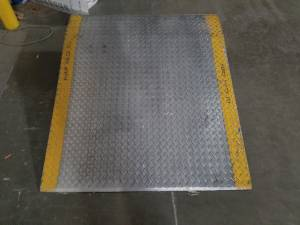 Metal Dock Plate- great condition- $400 (Aurora)