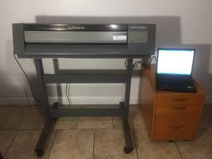 Roland PC-600 Cutter/Printer