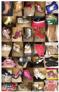 Over 100+/- pairs of ladies and girl shoes Brand New in Box WHOLESALE (FORT