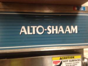 Alto Shaam holding oven (Fairfax)