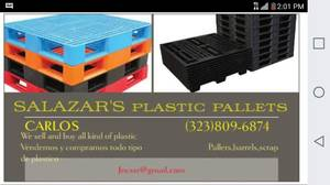 PLASTIC PALLETS (Boyle heights)