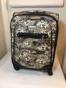 Brand NEW Cynthia Rowley Carry On Luggage Leopard Print (Palm Coast)
