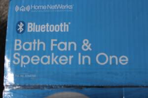 Bluetooth - Bath Fan and Speaker in One (Lancaster)