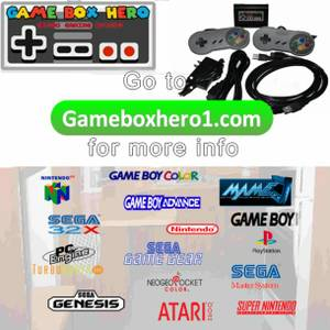 Totally cool! All your childhood video games in 1 awesome system Don't (