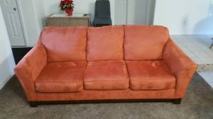 Orange couch and lazy boy (Twin Falls)