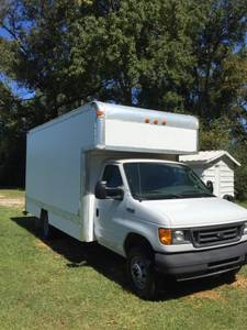 Furniture Delivery 2005 Ford Box Truck (Atlanta)