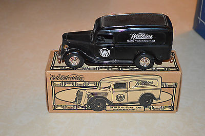Ertl Collectibles Watkins 1936 Ford Panel Vans