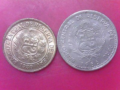 PERU  UN   INTI   1986   5    SOLES   DE ORO    1980