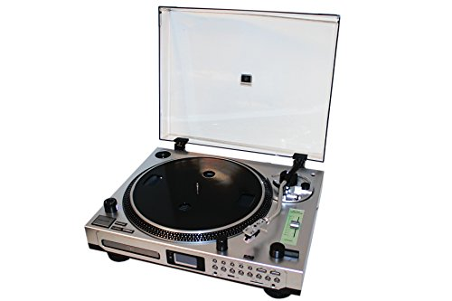 EMB Professional EB21CD DJ Turntable With Remote - CD/MP3 Player