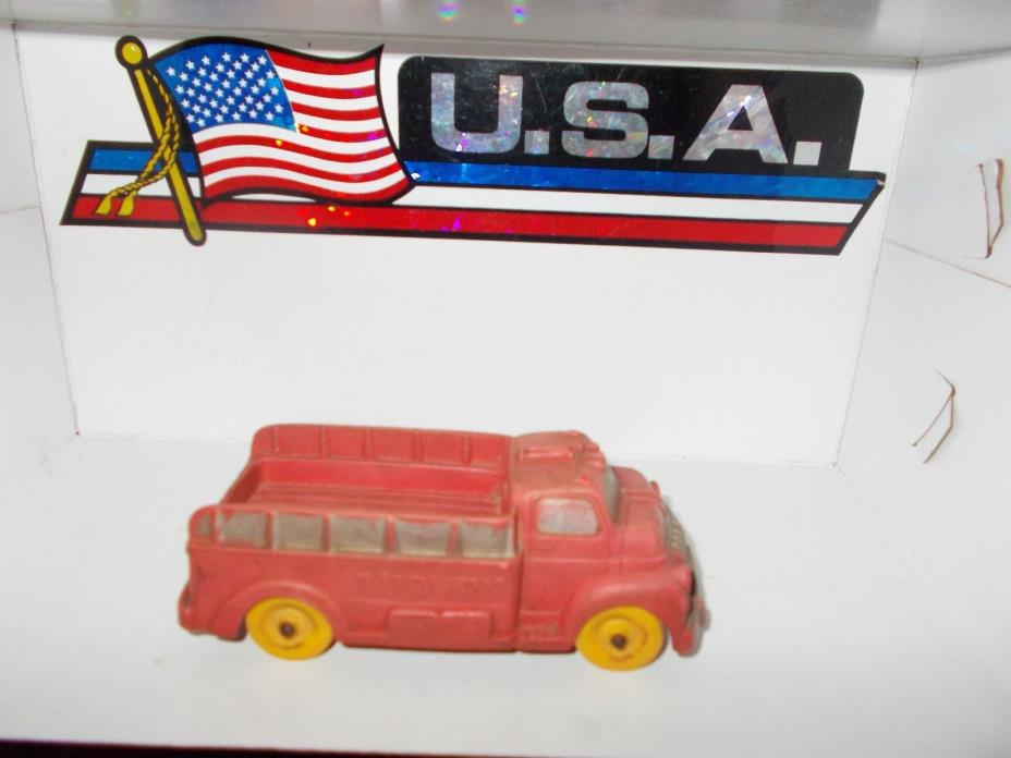 VINTAGE AUBURN RUBBER STAKE BED TRUCK #518