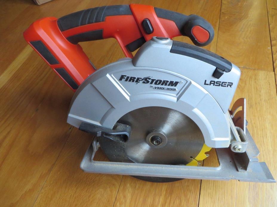 Black & Decker Firestorm 18V circular saw