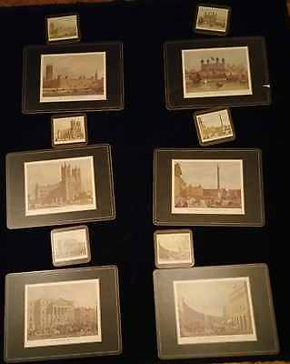 Pimpernel  British Heritage Cork Placemats and Coasters