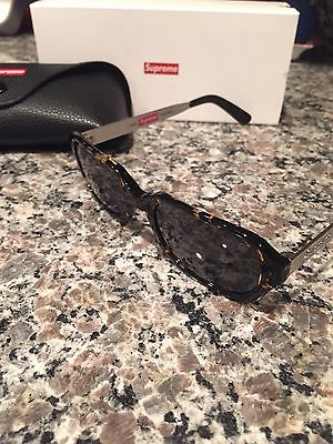 Supreme Vega Sunglasses Tortoise Supreme NYC Box Logo Moda Drifter Factory