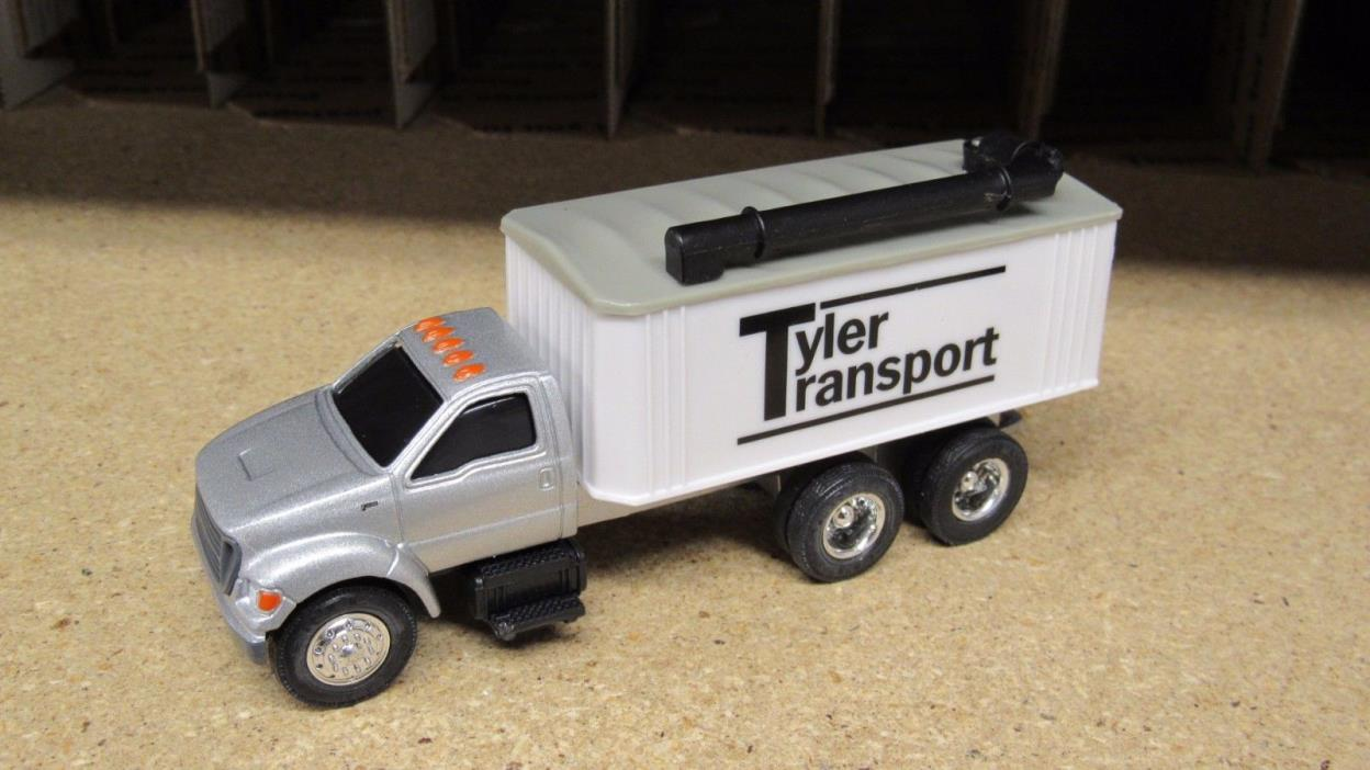 ERTL TYLER TRANSPORT FORD F750 SEMI CAB GRAIN TRUCK 1 1:64 FARM COUNTRY