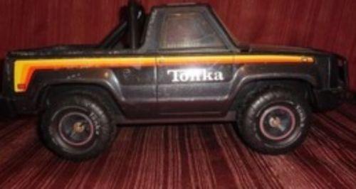VTG Tonka 1979 Big Duke Roughneck Bronco Truck Pickup Metal Steel Mr-970 Tires