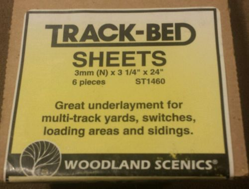 Woodland Scenics N Track-Bed Sheets (6) ST1460