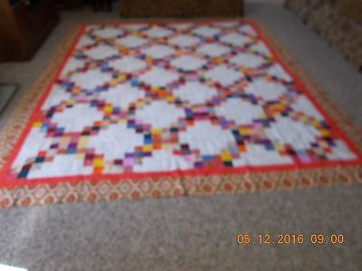 Lexington homemade quilt top 84x104